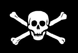 Large Skull & CrossBones Flag